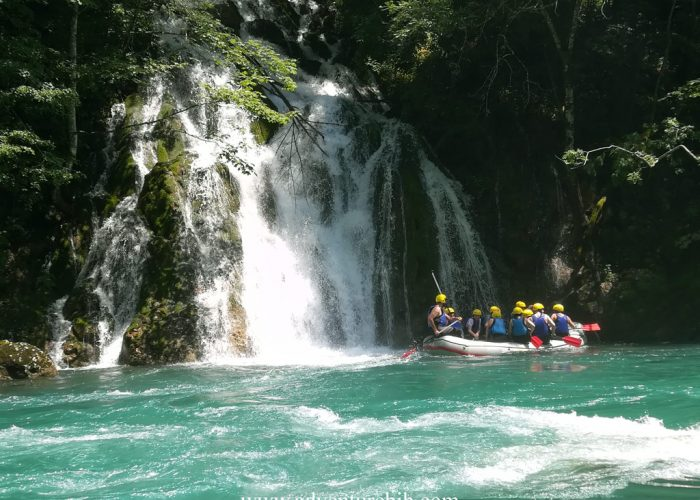 Rafting Tara canyon from Zabljak