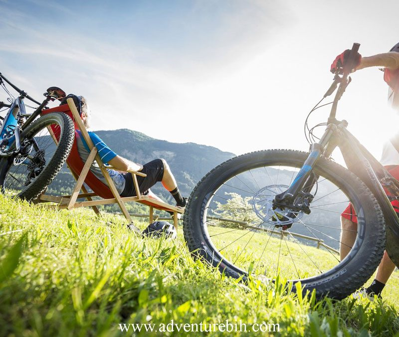 Mountain biking in National Park Sutjeska