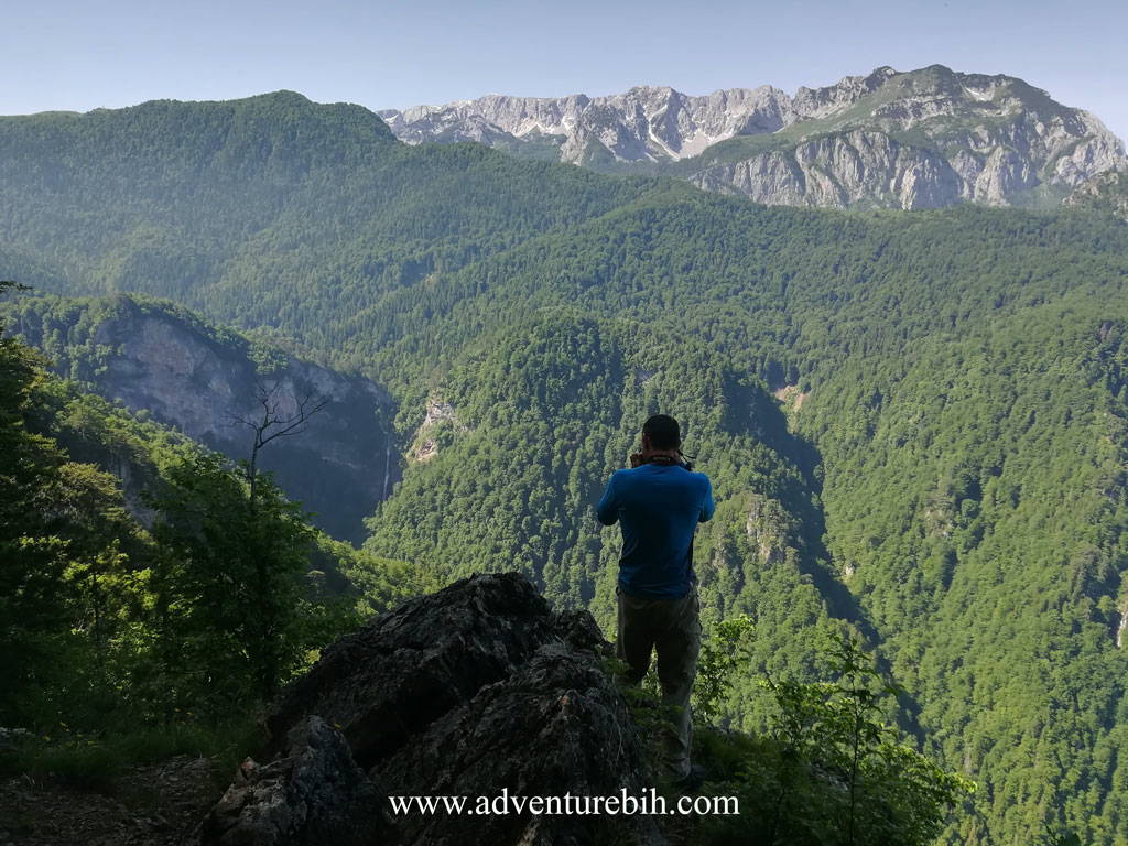 Perucica ranforest-hiking adventure