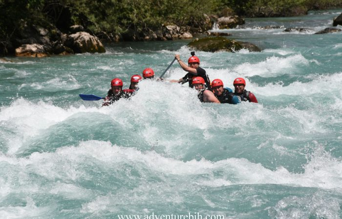 Rafting tara river deepest canyon in Europe