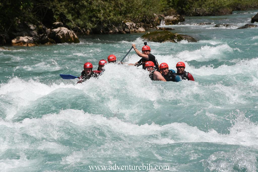 Rafting tara river deepest canyon in Europe