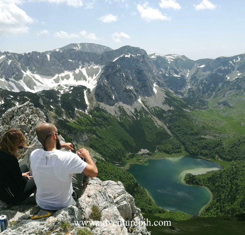 trnovacko lake hiking bosnia and herzegovina-montenegro
