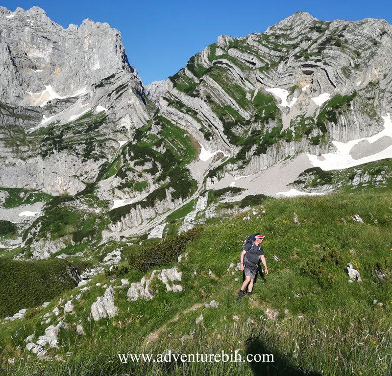 durmitor-bobotov kuk higheast mountain peak in montenegro